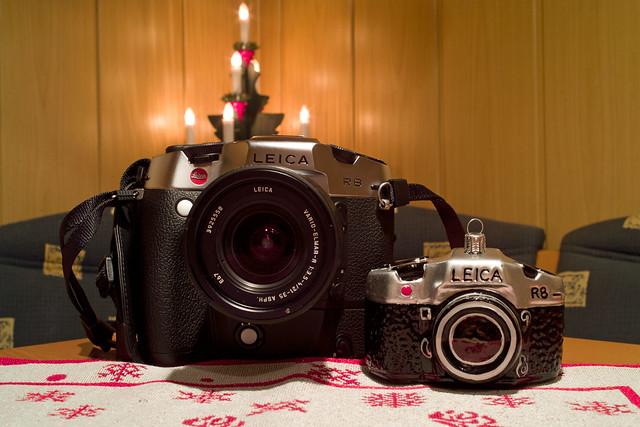 Weihnachtsschmuck für Leica Fans !!