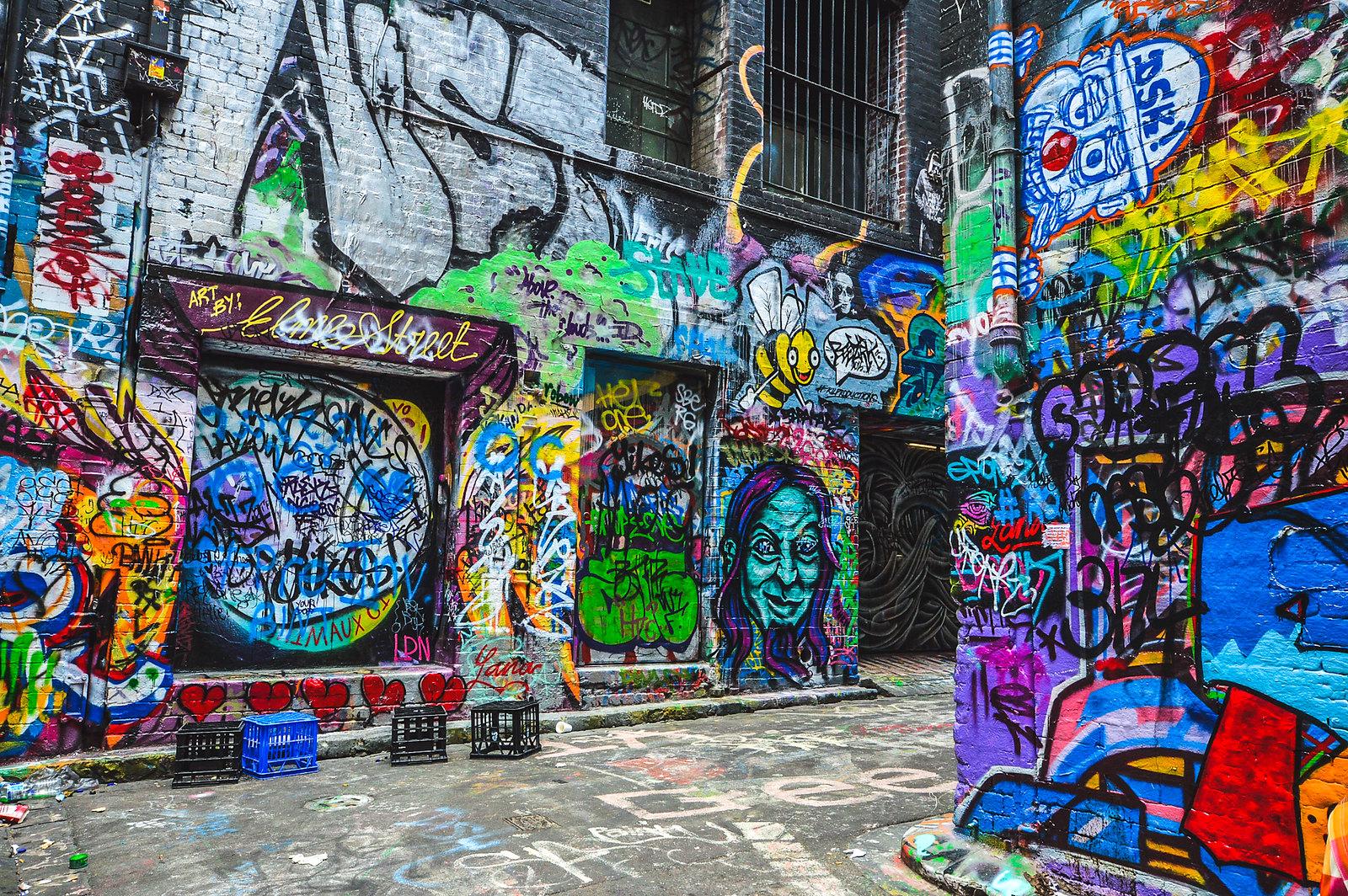 Melbourne Street Art 2015