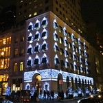 Fifth Avenue holiday lights