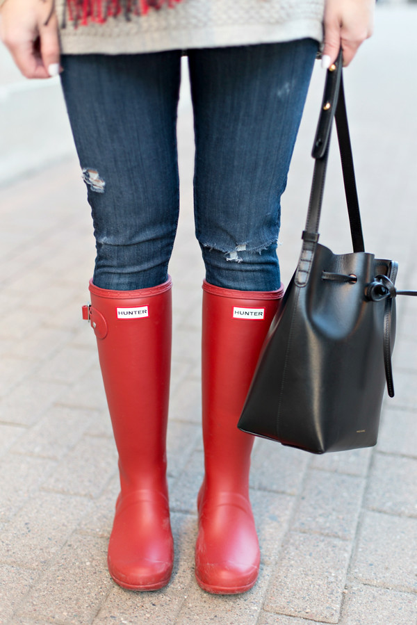 Hunter Packable Tour Rain Boots