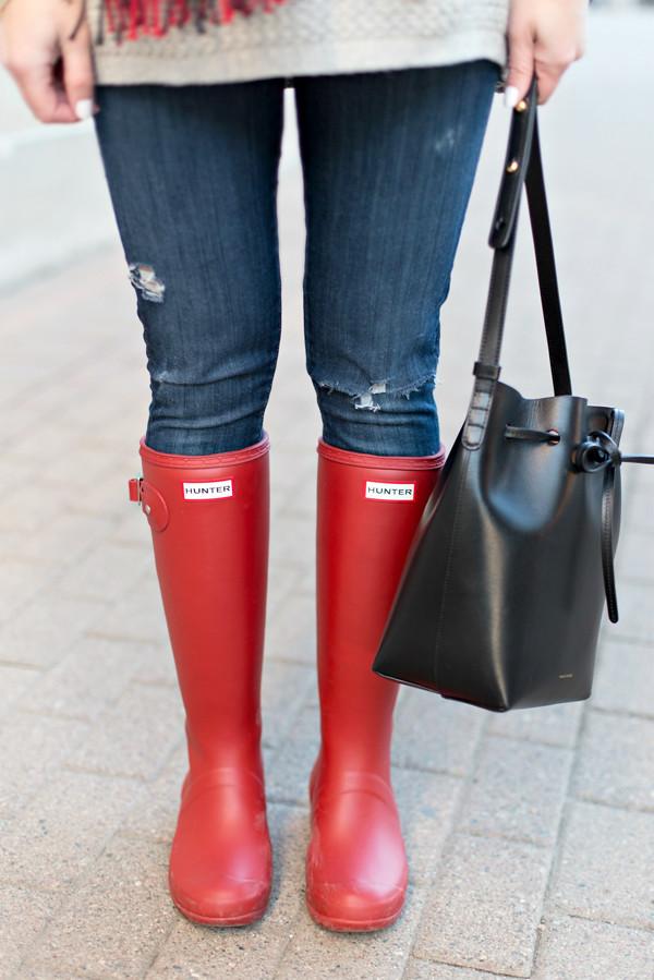 Hunter Packable Tour Rain Boots