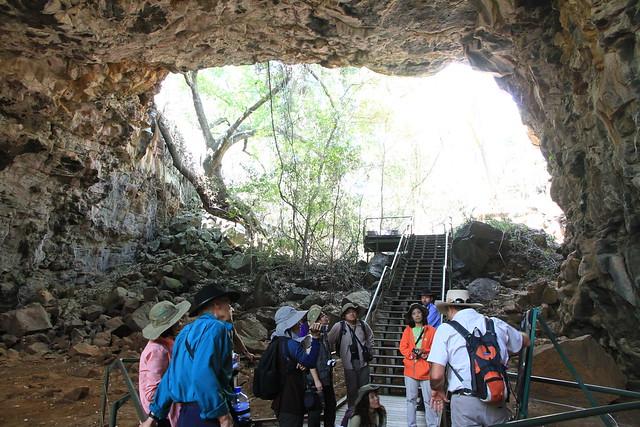 澳洲昆士蘭Undara 火山NP-熔岩洞導覽解說-20141116-賴鵬智攝-2