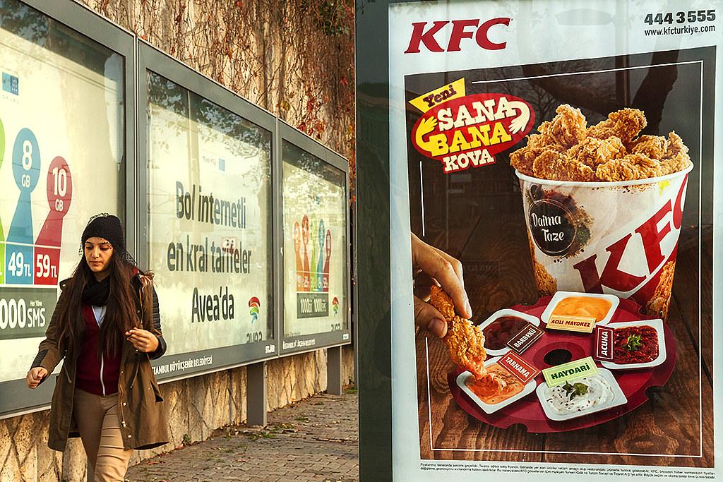 KFC ad--Istanbul