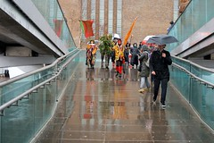 A wet day on Bankside
