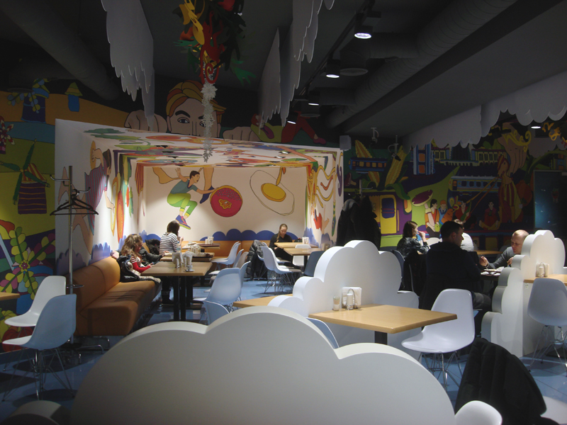 cafe cloud 96 Kiev all you need is food