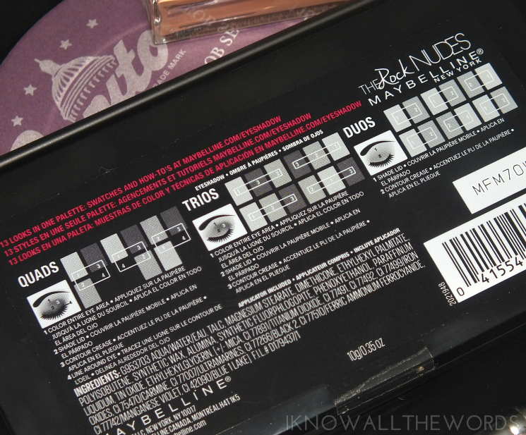 Maybelline The Rock Nudes Palette (4)