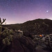 Nighttime view of my campsite in the Blair Valley area of Anza-Borrego Desert State Park by slworking2
