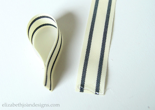Gluing Ribbon Ends