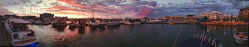 sunset panorama marina phone mandurah waterscape i