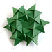 Freeform #origami #corrugation. It's expandable. #paperfolding by _Ekaterina