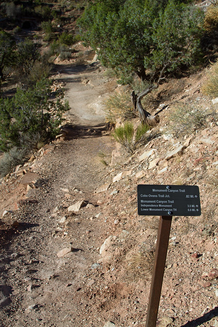 Coke Oven Trail Sign