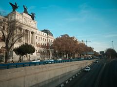Madrid traffic sewer