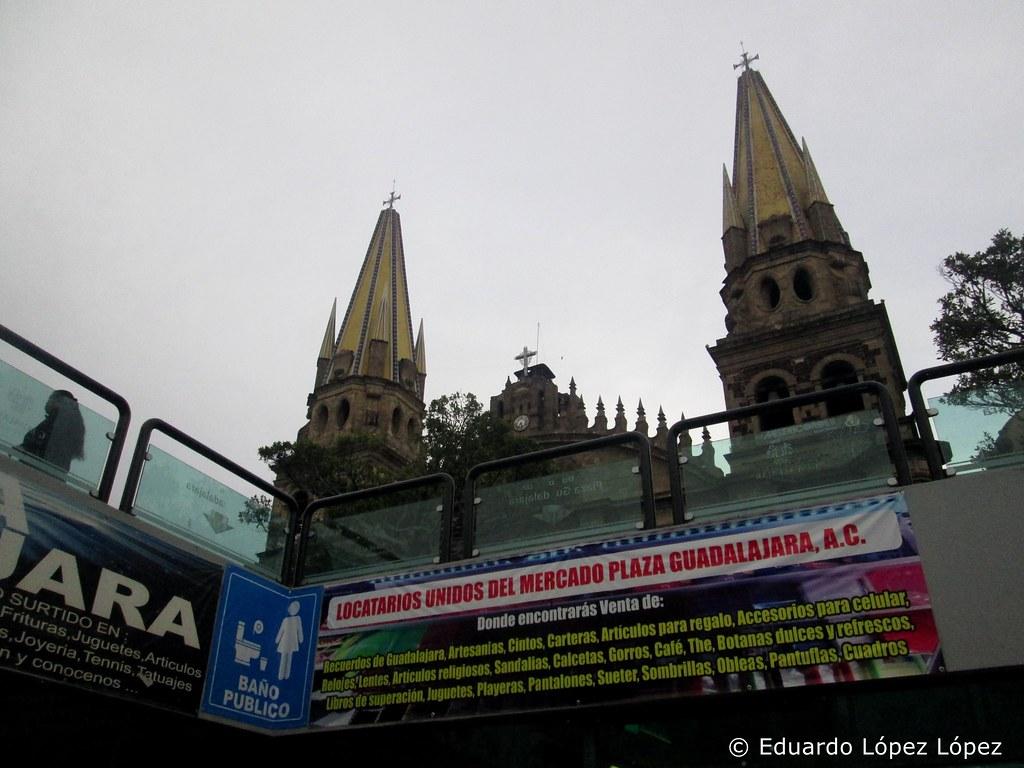 Por el centro de Guadalajara