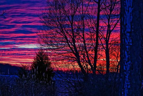 wisconsin us unitedstates sunsets delavan