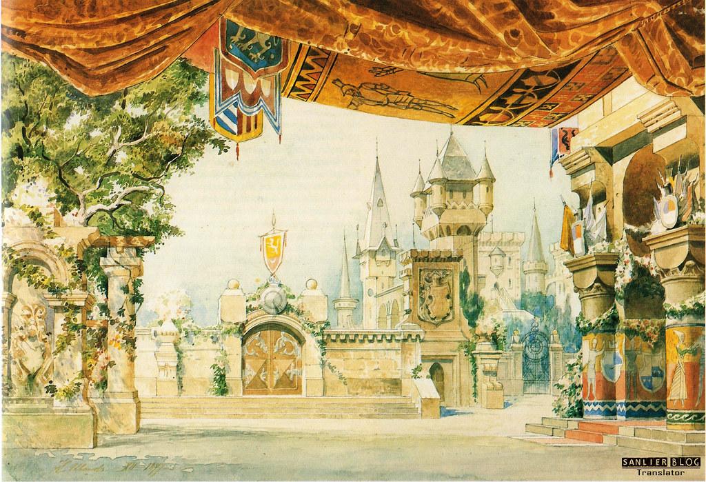 19世纪芭蕾剧舞台设计13