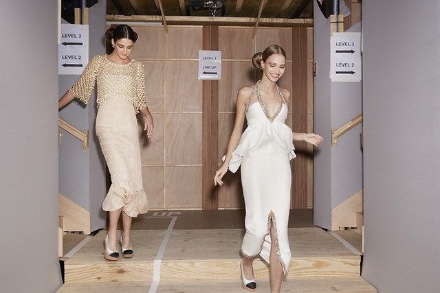 Backstage Chanel