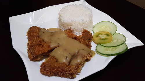 Breaded Pork Chop | Dinner at Koffie Pauze In Its New Home at Roxas Avenue Dormitory - DavaoFoodTrips.com