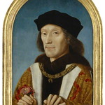 Henry VII arrested Sir William Stanley in 1495 for treason. He seized Stanley's home, Holt Castle. The original painting of Henry VII was by an unknown Dutch artist. © National Portrait Gallery, London, NPG 416