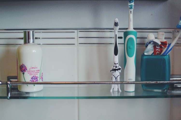 Home Life Feb - toothbrush