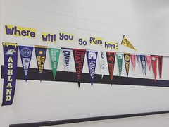 Hey @theohiostateuniversity @ascatosu! Someone needs to send a pennant down here to Ridgeview MS so these kids know Ohio State is an option for them.