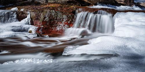 winter ice falls catskills kaaterskillfalls newyrok newyrokstate snaow catskillforestpreserve