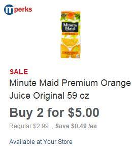 Minute Maid Premium Orange Juice