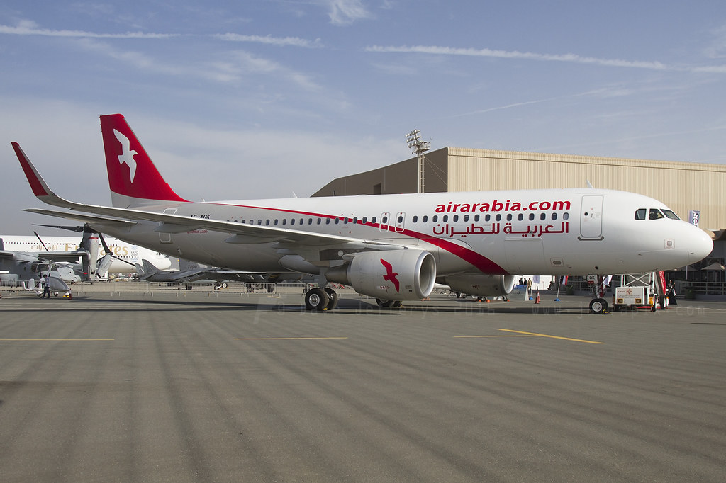 A6-AOK - A320 - Air Arabia