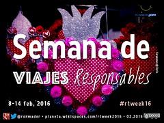 Semana de Viajes Responsables #rtweek16