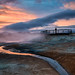 Sundown Reflections by Kirk Lougheed