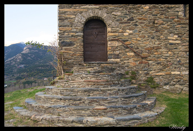 Puerta Iglesia de Sant Cristòfol de Anyós