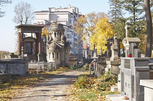 【写真】2015 東欧周遊 : リチャキフ墓地/2015-10-28/PICT4586
