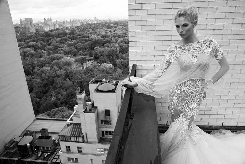 Inbal Dror 2016 Wedding Dresses - Mermaid short sleeves wedding dress | itakeyou.co.uk