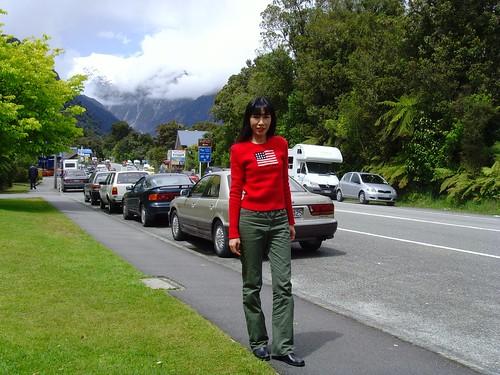 Franz Josef Township, South Island, New Zealand
