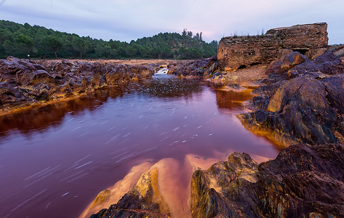 Colores intensos en el Rio Tinto... (05/03/2016)