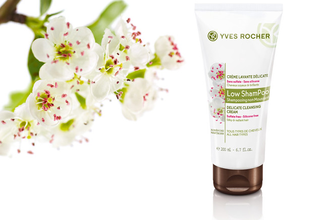 Yves Rocher Low Shampoo Delicate Cleansing Cream