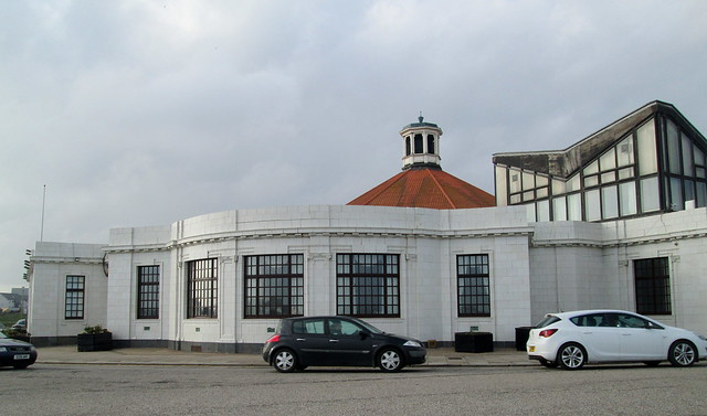Beach Ballroom, Aberdeen from East