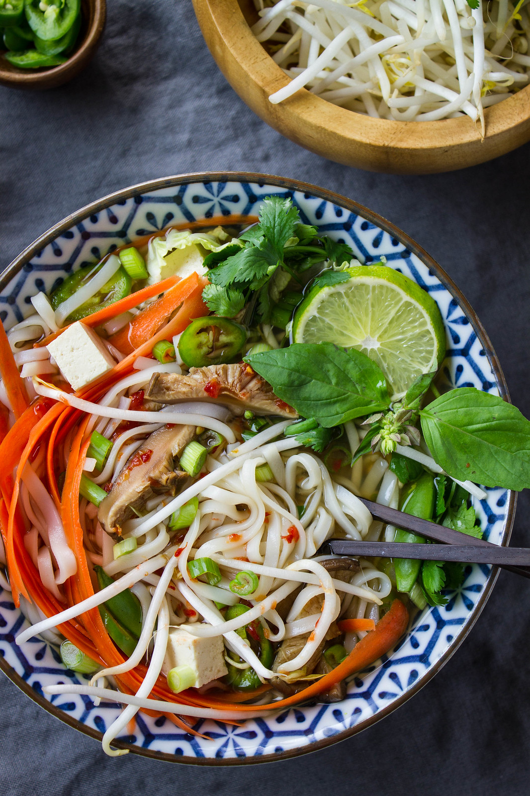 Easy vegan pho soup recipe