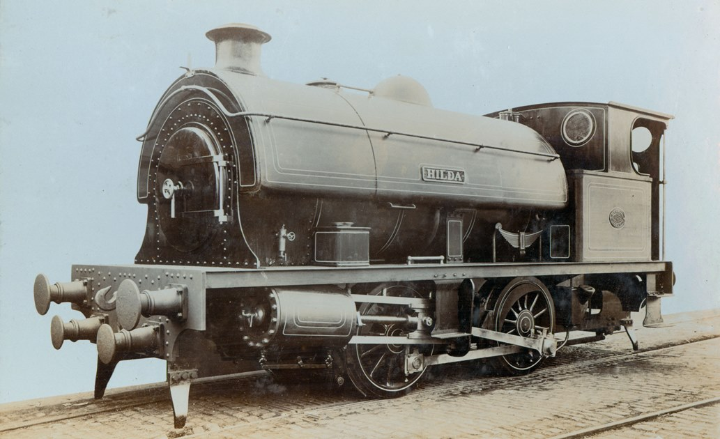 The tank engine 'Hilda' built by Hawthorn Leslie