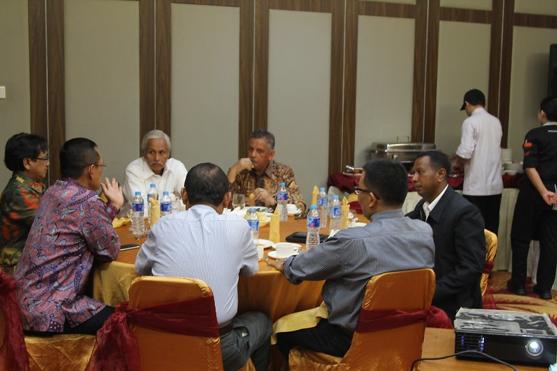 Diskusi Dirut dan Rektor