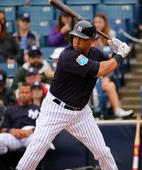 Carlos Beltran at the plate