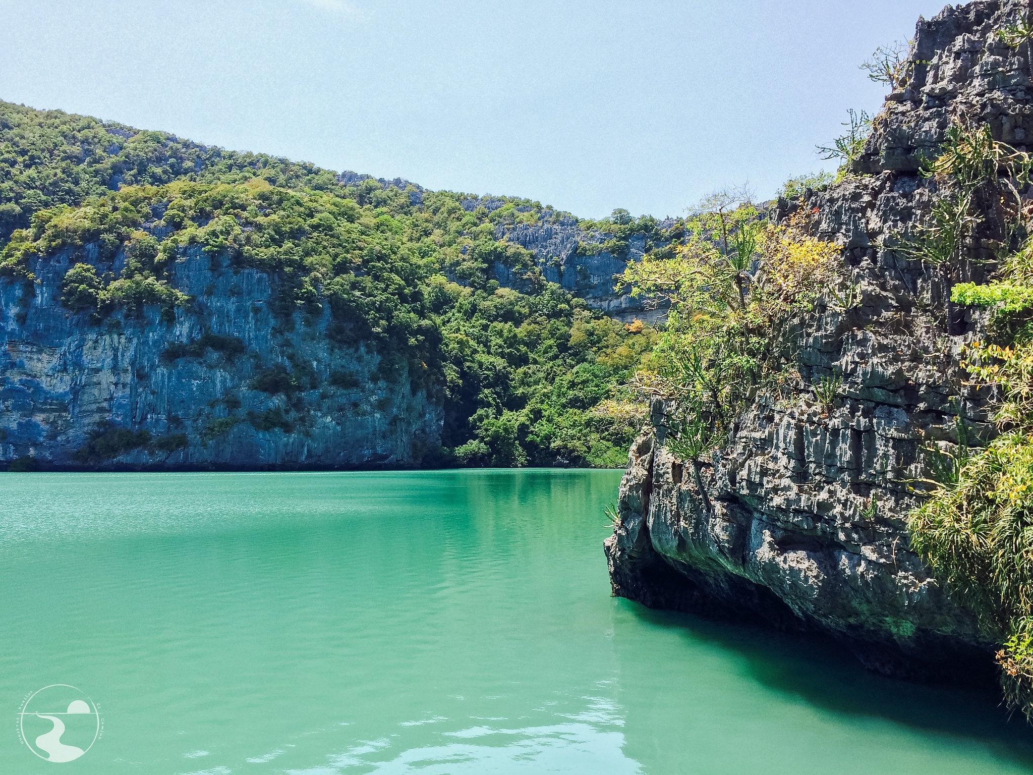 Emeral Lagoon, primer mirador