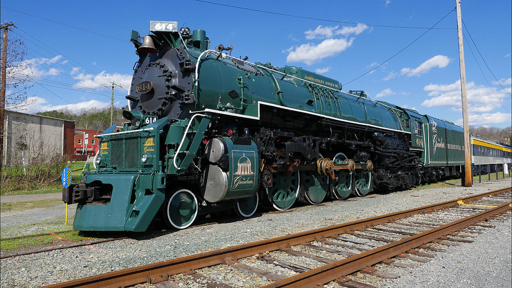 Chesapeake and Ohio 614 Steam Locomotive