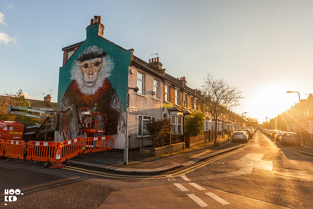 Louis Masai Mural for The Body Shop