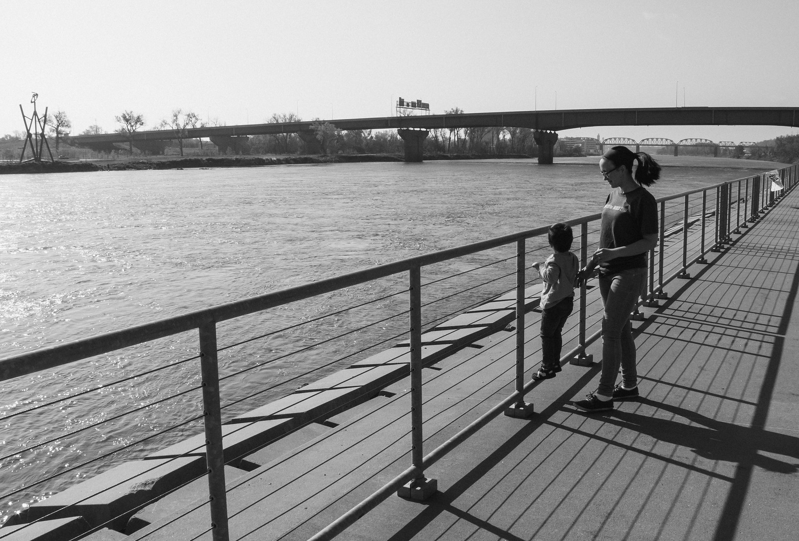 Micah and Mommy and the Missouri River