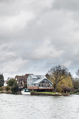Interesting house on the Thames