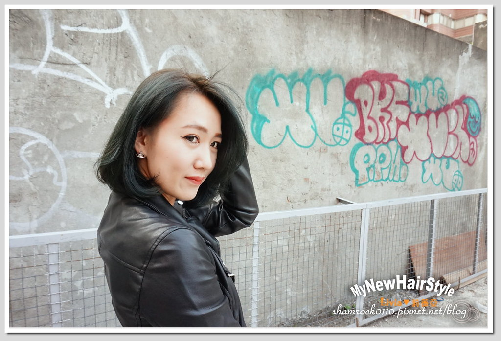 HappyHairTon短髮+墨綠色染髮 - 32