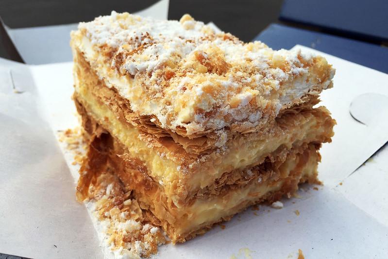Vanilla slice, Hellenic Bakery