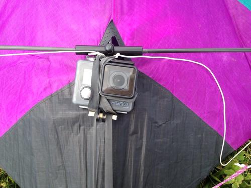 Kite camera rig