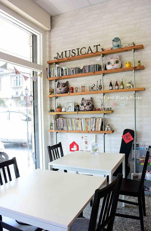 東區拉花貓咪餐廳musicat cafe14