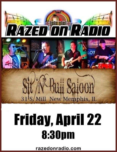 Razed On Radio 4-22-16